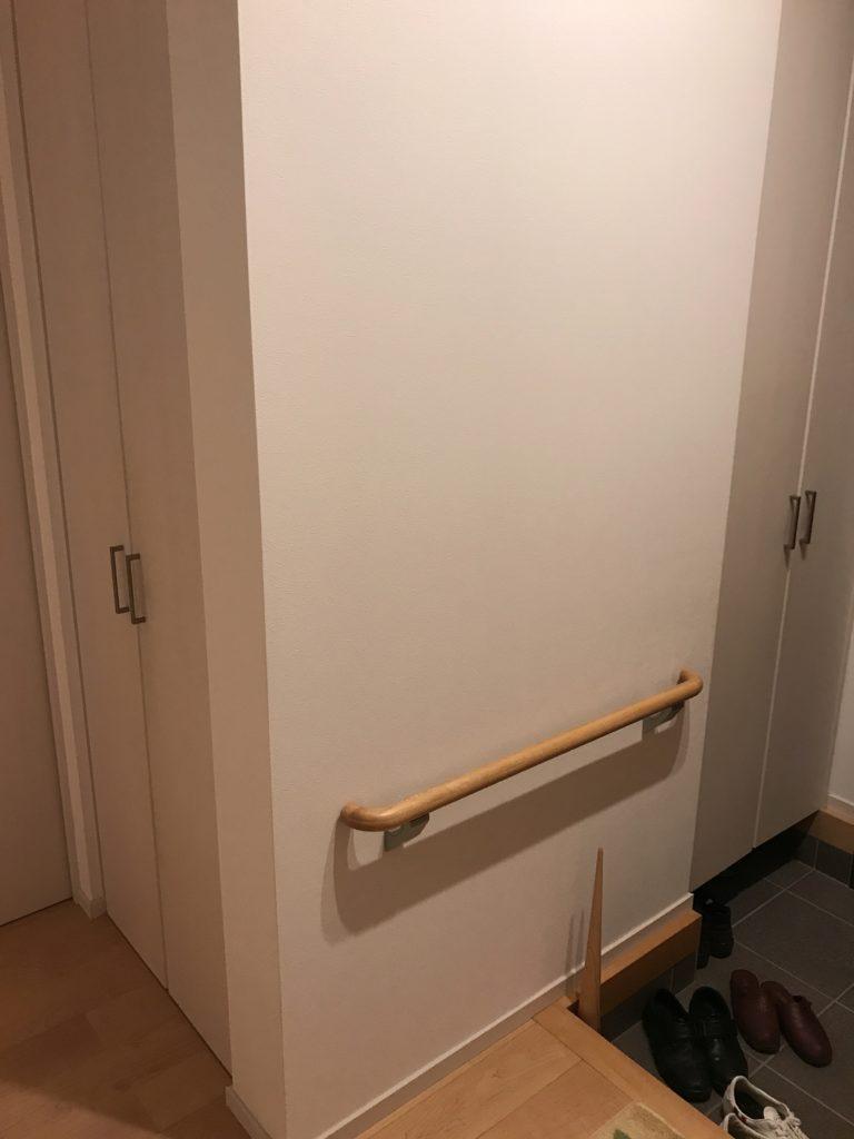 玄関クローゼットとお出かけクローゼット